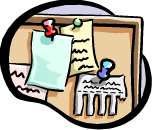 All activities are listed on the Bulletin Board - click to go there now.